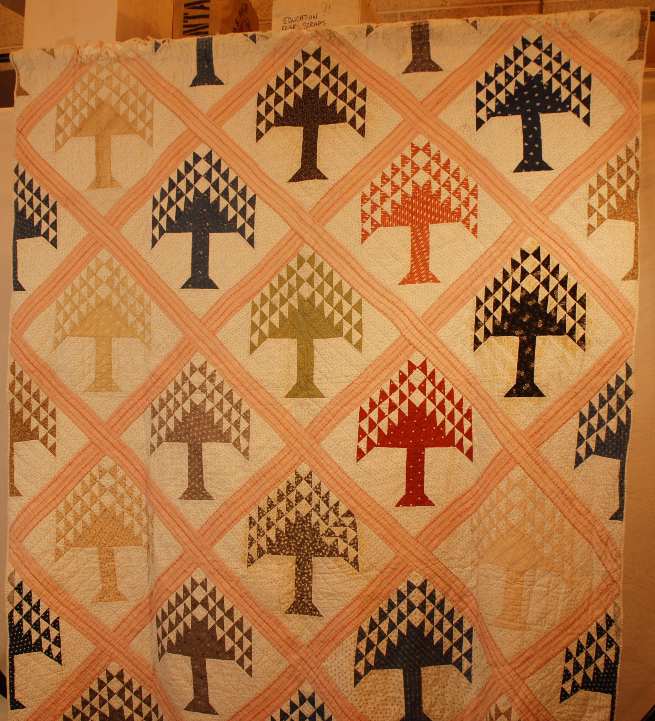 There were many different types of quilting styles in 19th century ... : quilt life - Adamdwight.com
